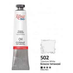 ROSA Studio - Titanová bílá 60ml - Olejová barva