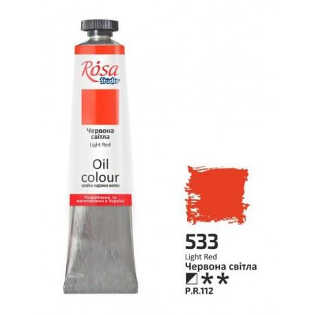 ROSA Studio - Červená světlá 60ml - Olejová barva