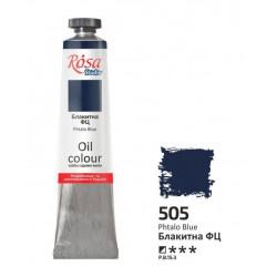 ROSA Studio - Modrá Phthalo 60ml - Olejová barva