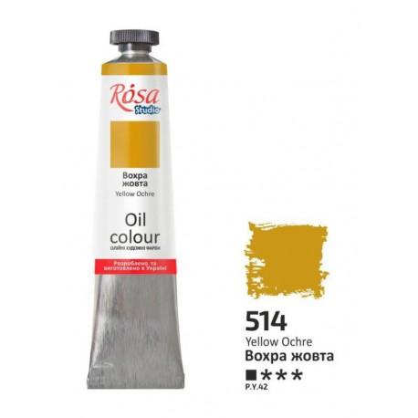ROSA Studio - Okr žlutý 60ml - Olejová barva