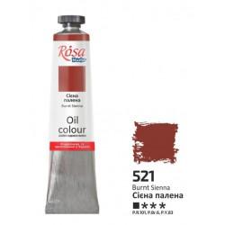 ROSA Studio - Siena tmavá  60ml - Olejová barva