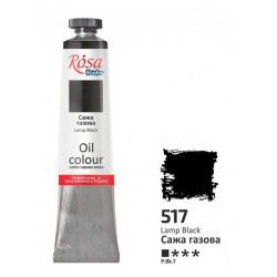 ROSA Studio - Černá  60ml - Olejová barva