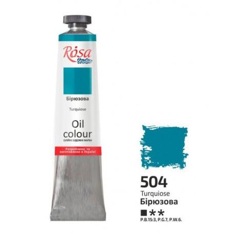 ROSA Studio - Tyrkysová  60ml - Olejová barva