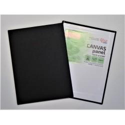 Plátno malířské na desce - černé -  40x50 cm