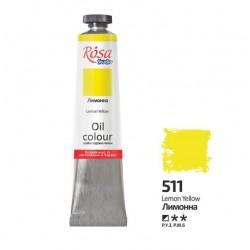 ROSA Studio - Žlutá citronová 60ml - Olejová barva